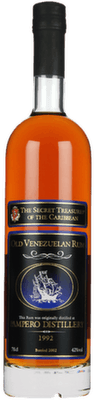 The Secret Treasures 1992 Old Venezuelan rum