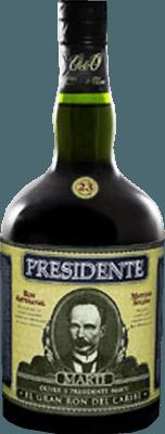 Presidente 23-Year rum