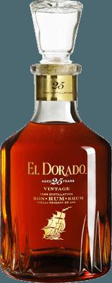 Medium el dorado 25 year 1986 vintage rum