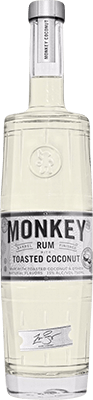 Monkey Toasted Coconut rum