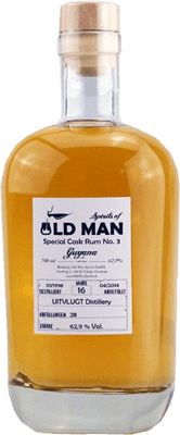Old Man Spirits Special Cask Rum No. 3 - Guyana Cask Strength 16-Year rum