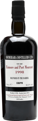 Velier 1998 Enmore and Port Mourant rum
