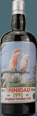 Silver Seal Wildlife Series 1991 Trinidad rum