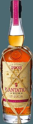 Plantation 2003 St. Lucia rum