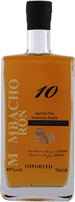 Mombacho Sauternes Finished 10-Year rum