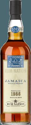 Rum Nation 1986 Jamaica 26-Year rum