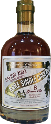 Alambic Classique Collection 2002 Galion 8-Year rum