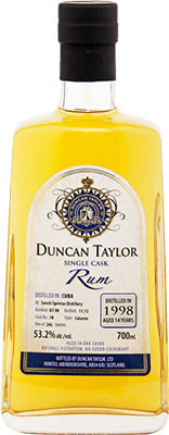 Duncan Taylor 1998 Cuba 14-Year rum