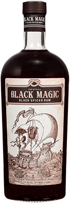 Black Magic Black Spiced rum