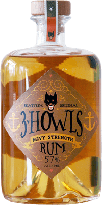 3 Howls Navy Strength rum