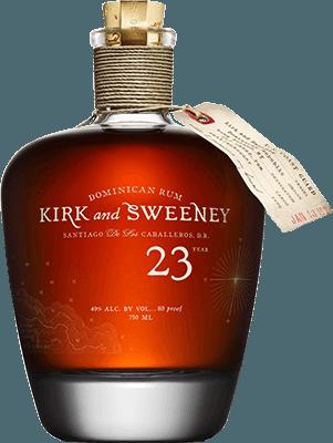 Kirk and Sweeney 23-Year rum