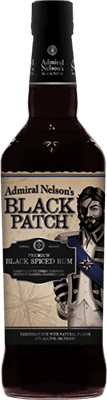 Admiral Nelson's Black Patch rum