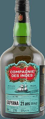Compagnie des Indes 1993 Guyana 21-Year rum