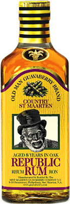 Old Man Guavaberry Republic 8-Year rum