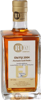 Rum Company 2004 Old Fiji Port Wine Cask rum