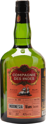 Compagnie des Indes Indonesia 10-Year rum