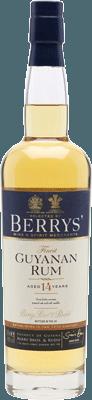 Berry's Guyanan 14-Year rum
