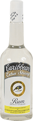 Cuello's Caribbean Extra Strong rum