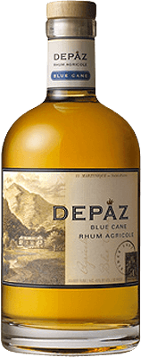 Depaz Blue Cane Amber 1-Year rum