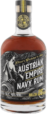 Austrian Empire Solera 25-Year rum