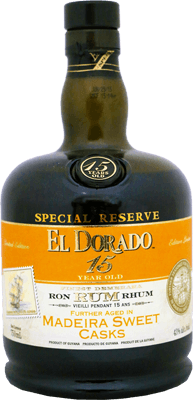 El Dorado Special Reserve Madeira Sweet Cask 15-Year rum