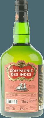 Compagnie des Indes Haiti Barbancourt 11-Year rum