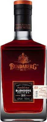 Bundaberg 2015 Master Distillers Blenders Edition rum