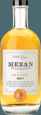 Mezan 2005 Guyana rum