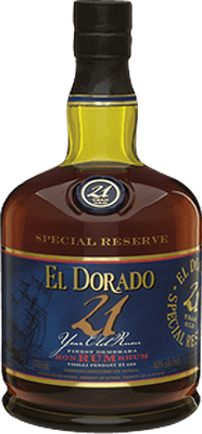 Medium el dorado 21 year rum