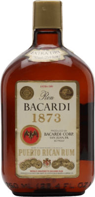 Bacardi 1873 Extra Dry rum