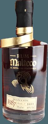 Malteco 1987 Seleccion rum