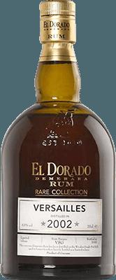 El Dorado 2002 Versailles rum