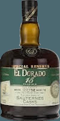 El Dorado Special Reserve Sauternes Cask 15-Year rum
