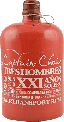 Tres Hombres 2015 Captain's Choice 21-Year rum