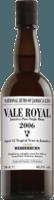 National Rums of Jamaica 2006 Long Pond Vale Royal Wedderburn VRW 12-Year rum