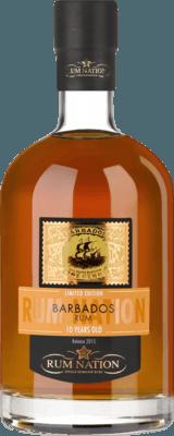 Rum Nation 2015 Barbados 10-Year rum