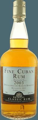 Bristol Classic 2003 Fine Cuban rum