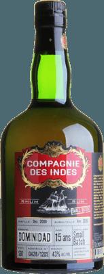 Compagnie des Indes Dominidad 15-Year rum