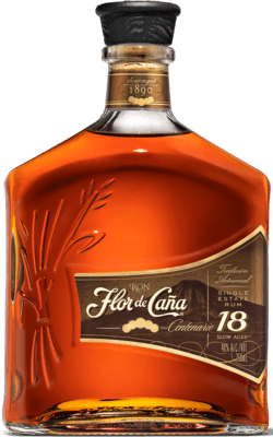 Medium flor de cana 18 year