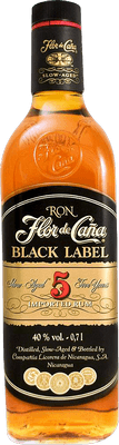 Flor de Caña Black label 5 rum