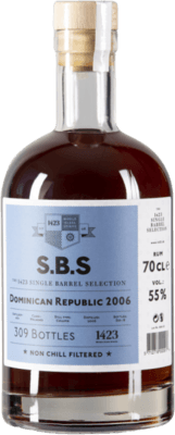 S.B.S. 2006 Dominican Republic PX Sherry Finish 12-Year rum
