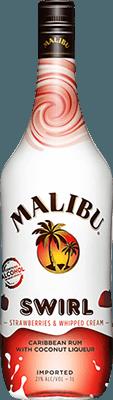 Malibu Strawberries & Whipped Creme Swirl rum