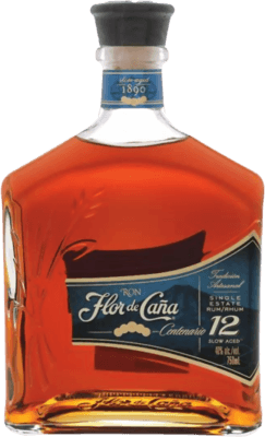Medium flor de cana 12 year