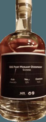 S.B.S. Port Morant White Overproof rum