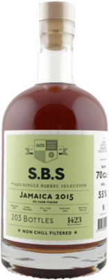 S.B.S. 2015 Jamaica PX Sherry Finish rum