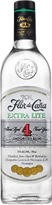 Flor de Caña Extra Lite 4 rum