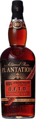 Plantation Overproof O.F.T.D. rum