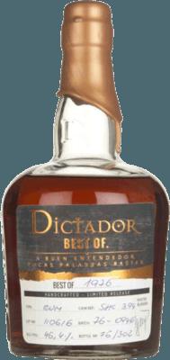 Dictador 1976 Best of rum