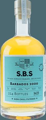 S.B.S. 2000 Barbados rum
