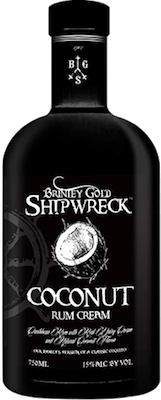 Brinley Gold Shipwreck Coconut Cream rum